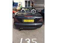 Black SLK Mercedes for sale up graded