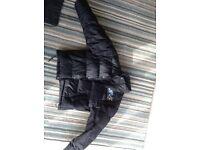 Slammin Vinyl oldskool Puffa Jacket and free Slammin vinyl bag