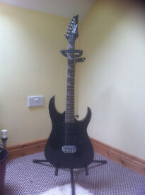 Modified Electric Guitar. Ibanez with added very high quality pickups