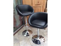 Pair of Breakfast Bar Chairs/Stools