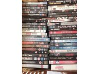OVER 50 DVD'S ALL MIXED FILMS