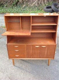Retro sideboard drinks cabinet. 1970's style. Vintage retro look. from aberystwyth