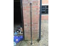 5FT Black Standard Barbell with Spinlocks
