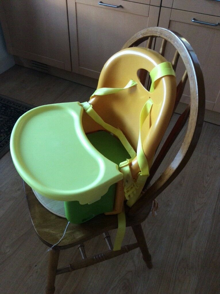 Mothercare boosterchair with removable tray