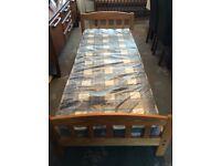 Junior wooden bed