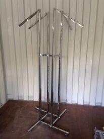 Chrome hanger unit