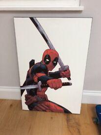 Marvel Deadpool canvas picture