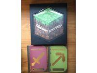 Minecraft Blockopedia and Minecraft Combat book and Beginners Handbook
