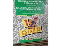 "Grandmaster flash WHITELINES 12"" record"