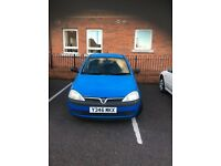Semi Automatic Vauxhall corsa £675.00 great car to drive very easy on petrol