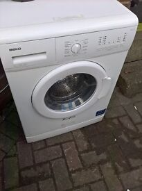 beko White washing machine..cheap free delivery