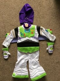 Disney Toy Story Buzz Lightyear baby dress up costume, size 6-12 months.