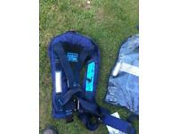 Seago life jackets (two) 275newtons
