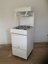 Gas Cooker with high level grill and single oven