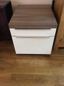 Kitchen cabinets, white gloss