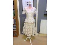 Alice Temperley Peplum top and Skirt