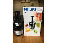 BRand new Philips Viva 700W XL quick clean juicer.
