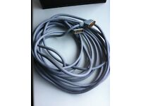 10m Gold Plated Premium quality Scart Lead