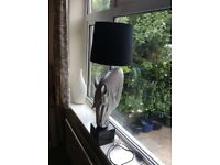 Horses head table lamp plus others