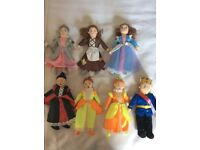 Cinderella soft character/puppets