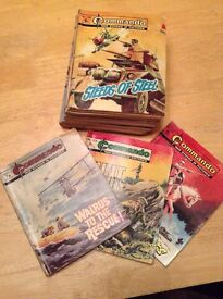 Nineteen Commando 7 x 5 Comics.