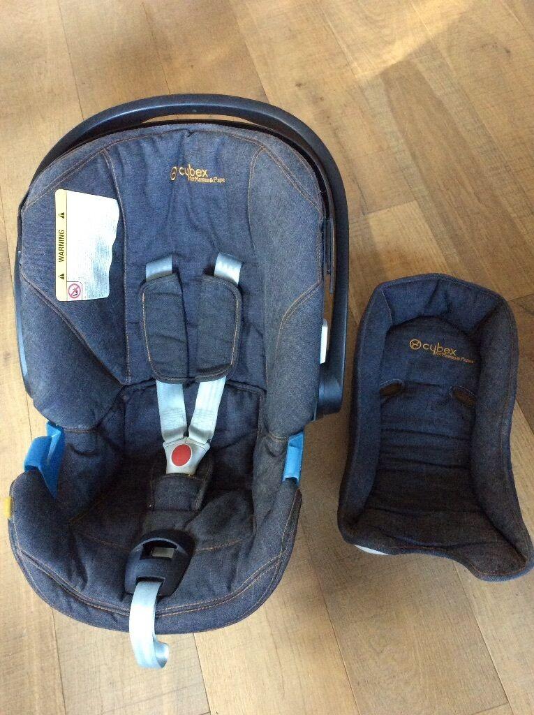 Mamas Papas Aton Cybex Car Seat Hood Canopy Insert Newborn 0 13kg CAN