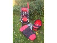 iCandy Cherry pushchair/pram/buggy travel system
