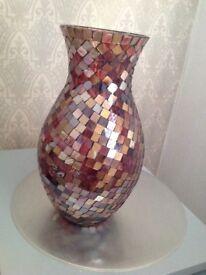 Lovely crystal style vase