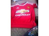 Manchester United football outfit