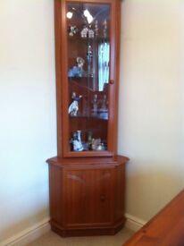 Corner Unit /Display cabinet