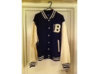 NEW WITH TAGS - VARSITY, COLLEGE, UNIVERSITY, BASEBALL JACKET - Unisex
