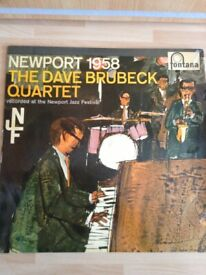 NEWPORT 1958 by The Dave Brubeck Quartet is a 1959 LP on the Fontana Record Label