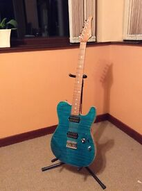 Suhr Telecaster Classic T with Humbuckers - Swamp Ash Body, Maple Top, Roasted Maple Neck.