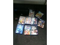 Play station 2 with 10 games