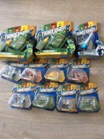 Selection of brand new Thunderbird toys