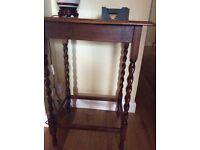 Hall Table Mahogany