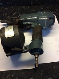 Air coil nail gun