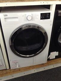 Beko 9kg condensing dryer. RRP £289 12 month gtee