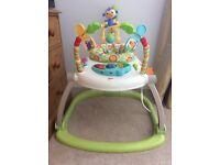 Fisher Price Rainforest folding Jumperoo