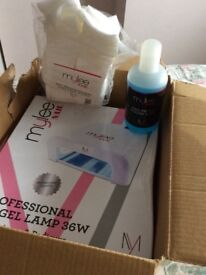 Nail lamp plus all extras
