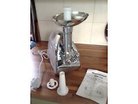 Meat Grinder MGB -120. Unused excellent condition