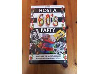 'Host a 60's Party' Game Pack, Marks and Spencer, Brand New in Wrapper