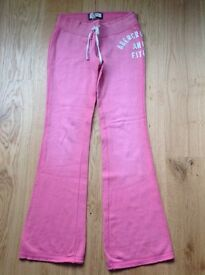 Genuine Abercrombie & Fitch Pink Flared Sweatpants - Size M
