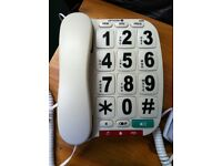 Large Button Telephones X2