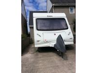 Eldiss Xplore 495 Caravan for sale. Immaculate 5 Berth 1320 MTPLM 2009 model.