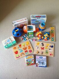 Bundle of early toys