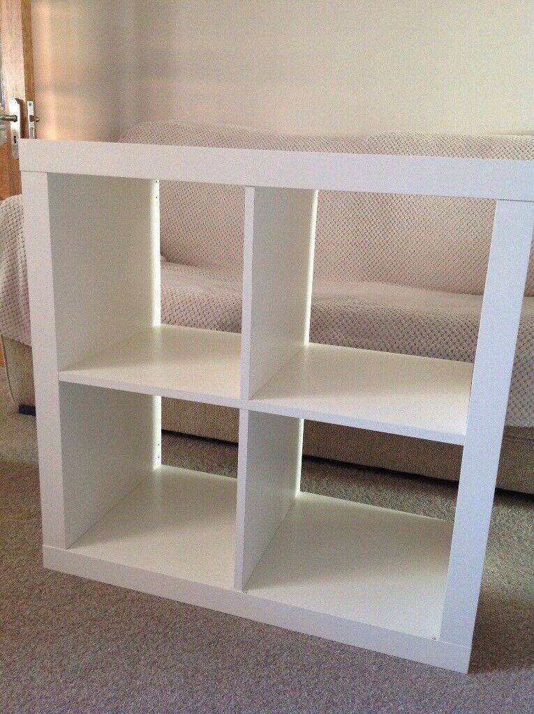 Ikea Expedit / Kallax 4 cube unit White | in Nuneaton, Warwickshire |  Gumtree