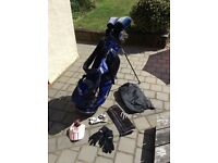 PRICE REDUCTION - Bay Hill by Arnold Palmer Ladies Golf Clubs, Taylor Made Golf Bag & Accessories
