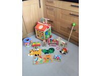 Wooden Baby Toys Walker, Puzzles ect