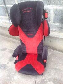 Recaro pro racer child car seat with built in speakers!!